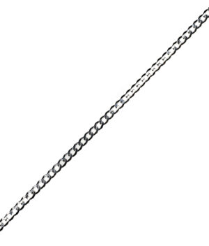 łańcuszek srebrny męski próba 925 średnia pancerka szerokość3,6mm długość 50cm