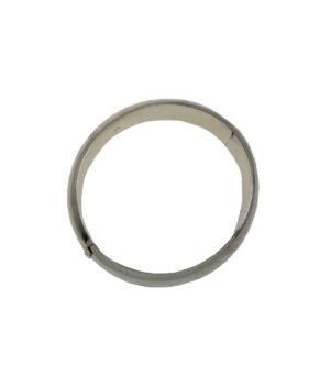 bransoletka srebrna próba 925 szeroka bangle owalna sztywna szerokość 20mm