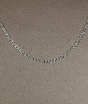 łańcuszek srebrny próba 925 dekoracyjny długość 50cm