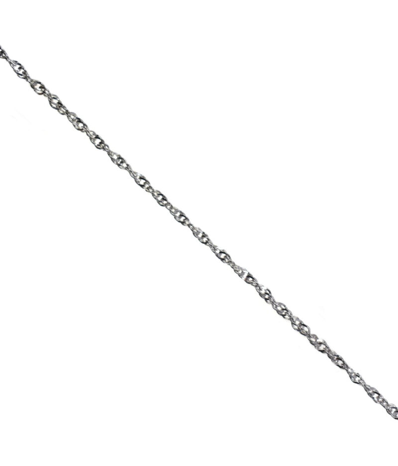 łańcuszek srebrny próba 925 Singapur długość 55cm grubość 2,6mm